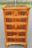Yew Tall Chest of Drawers